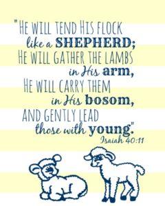 Isaiah 40:11