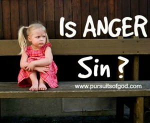Is Anger Sin?