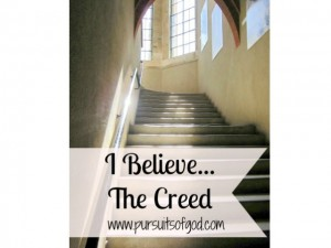 I Believe... The Creed