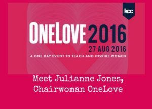 Interview with OneLove Chairwoman, Julianne Jones