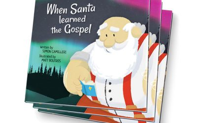 Children's Book Review: When Santa Learned the Gospel-Simon Camilleri (Writer), Matt Boutros (Illustrator)