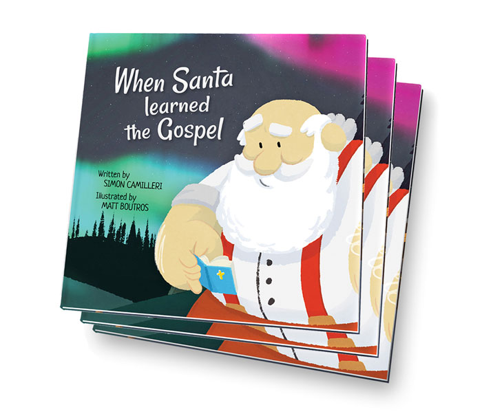 "Episode 4: Simon Camilleri, Author of ""When Santa Learned the Gospel"""